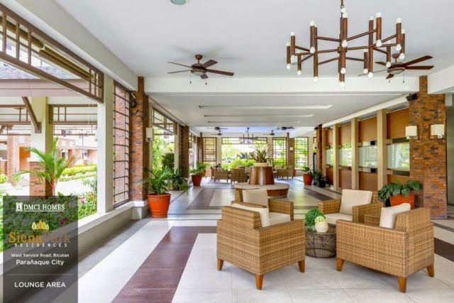 Siena Park Residences Lounge Area