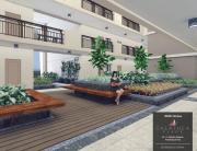 Atrium Garden inside A DMCI Homes Mid Rise Condominium