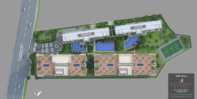 Calathea Place SDP Site Development Plan