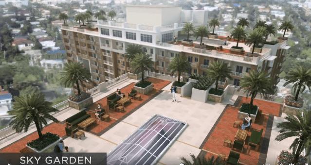 Sky Garden in Infina Towers Aurora Boulevard