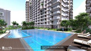 Lap Pool in Satori Residences