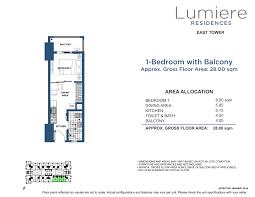 Lumiere 1 Bedroom