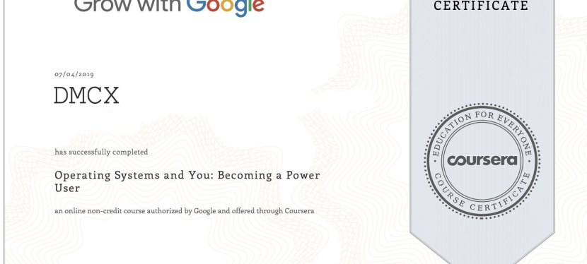 Google IT Certification Part III