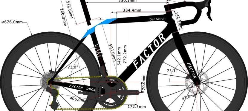 Dan Martin's Bike Size 2020