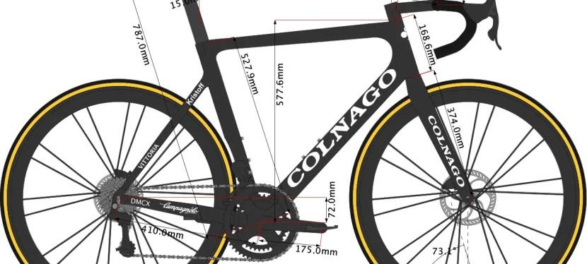 Alexander Kristoff's Colnago V3RS Bike Size 2021