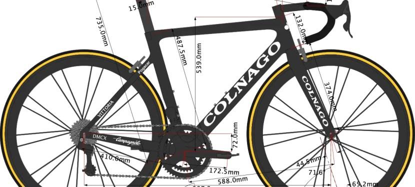 Tadej Pogačar's Colnago Bike Size 2020