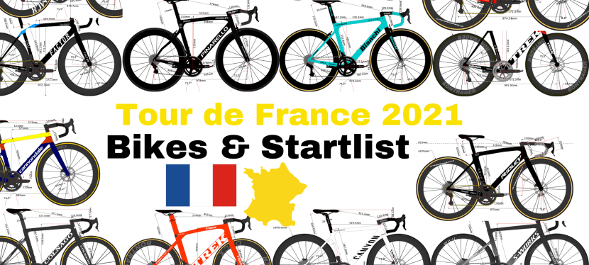 What are the Team Bikes on the Tour de France 2021?