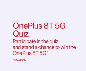 Amazon OnePlus 8T 5G Quiz