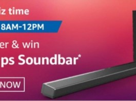 Amazon Philips Soundbar Quiz