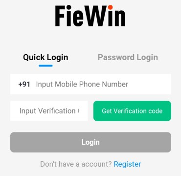Fiewin App Refer Earn