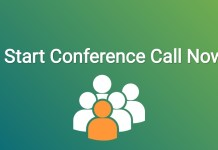 How to make a conference call