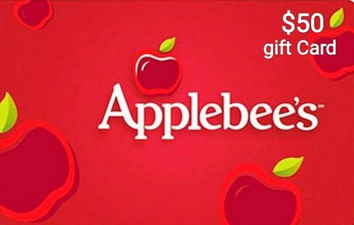 Applebees Gift Card Generator