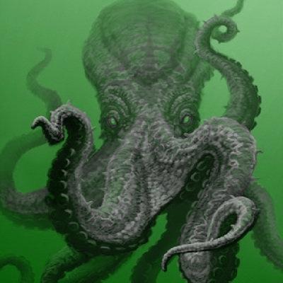 octopus-in-green-water
