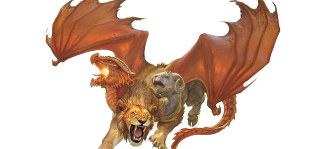 Chimera Variants For Dungeons Dragons Fifth Edition Over 2 000
