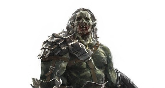 Khrull, Half-Orc Death Cleric | NPC for Dungeons & Dragons Fifth