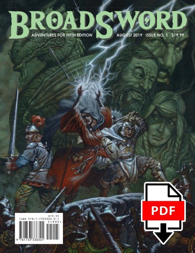 BroadSword Monthly Issue #1 PDF available for instant download at dmdave.com