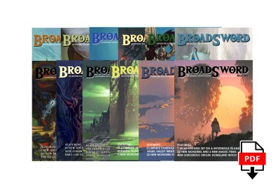 BroadSword 12 Issue Digital Subscription at DMDave.com. Featuring 12 digitally formatted PDFs of original 5e content, monsters, maps and more by DMDave
