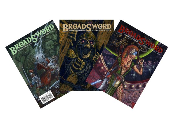 BroadSword Issues 1-3 Bundle (Print) features two hardcover and one softcover BroadSword books at a discounted price. Available at dmdave.com