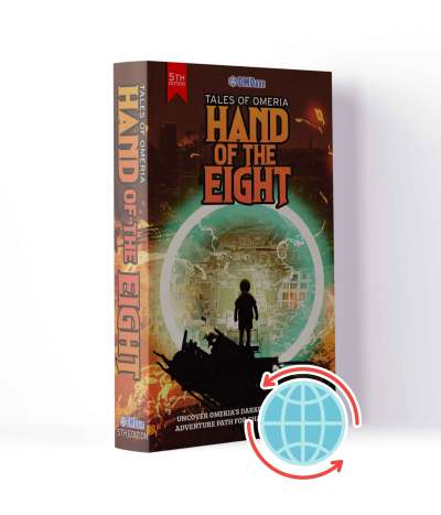 Hand of the Eight Print International