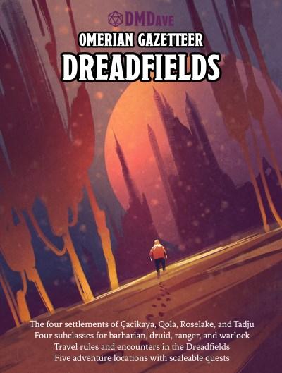 Omerian Gazetteer: Dreadfields (part 1) cover