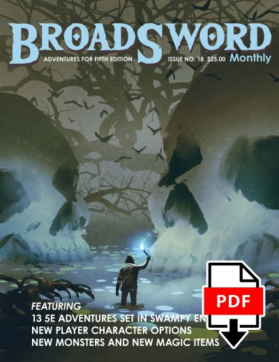 BroadSword Monthly #18 PDF