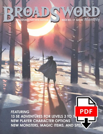 BroadSword issue 19 PDF book - buy it now at dmdave.com