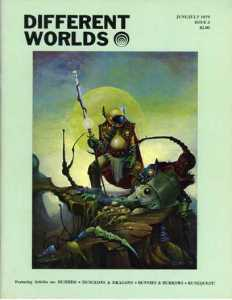 Different Worlds issue 3 June/July 1979