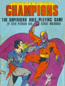 Champions role-playing game from 1981