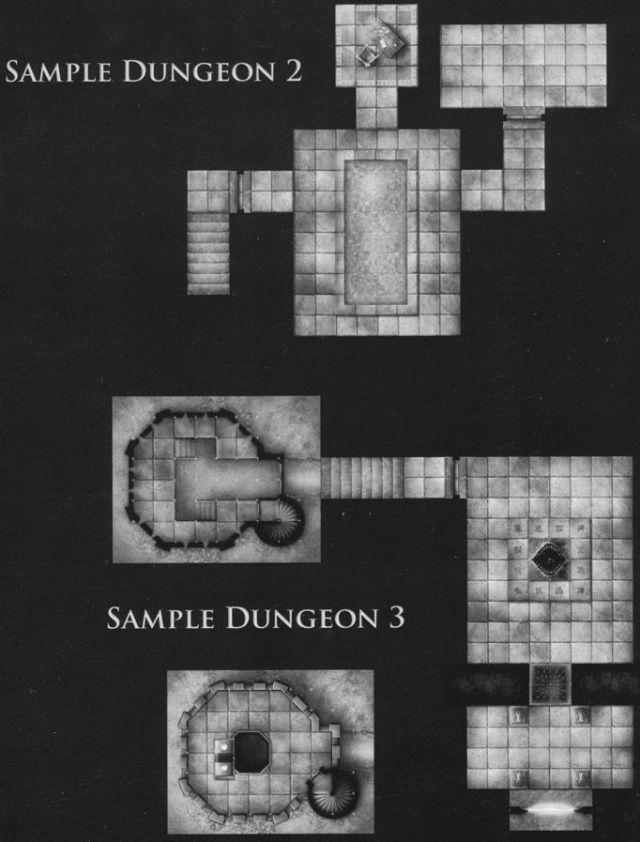 DT2 Arcane Corridors sample dungeon 2 & 3
