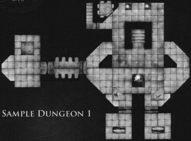 DT3 Hidden Crypts sample dungeon 1