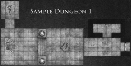 DT6 Dire Tombs sample dungeon 1