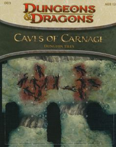 DU3 Caves of Carnage front cover