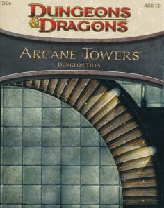 DU4 Arcane Towers front cover