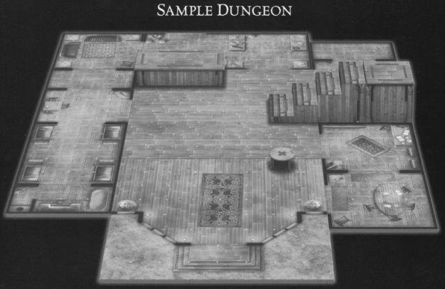 DU6 Harrowing Halls sample dungeon