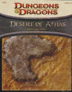 DU7 Desert of Athas front cover