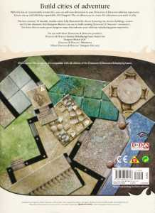 Dungeon Tiles Master Set The City - back cover