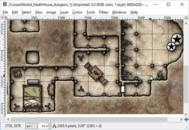 How to print map graphics as battle maps using free software | DMDavid