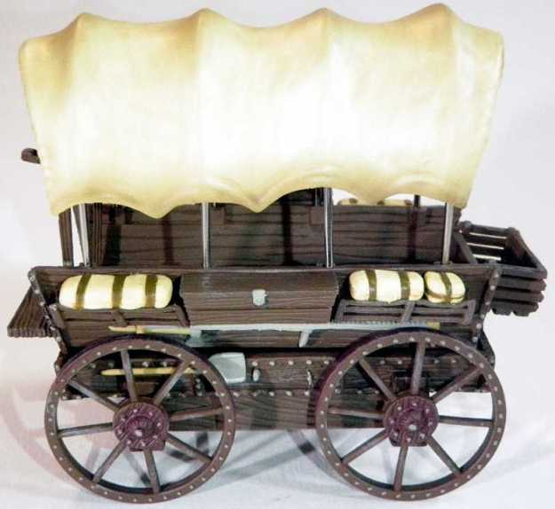 Tabletop Props covered wagon