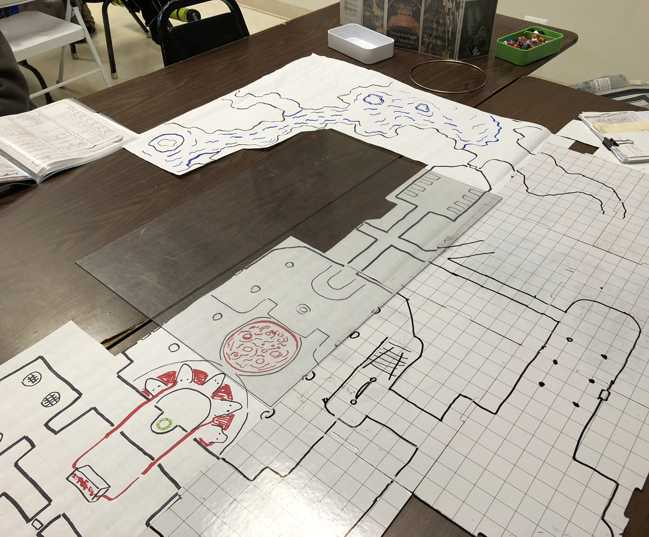 photo relating to Storm King's Thunder Printable Maps identified as My Plan in the direction of Attract Dungeon Overcome Maps Without the need of Counting
