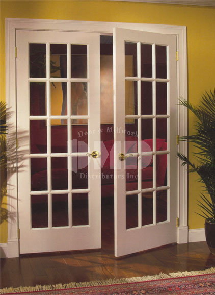 15 Lite French Clear Glass Primed 6 8 80 Door And