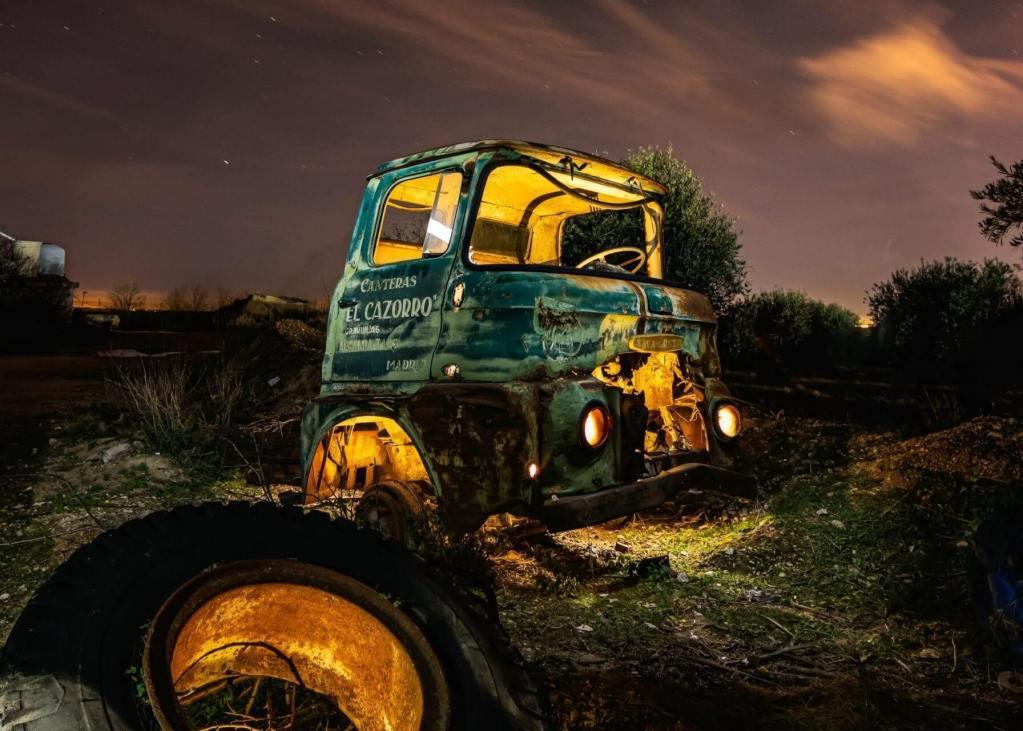 camion chatarra foto nocturna dmd dest