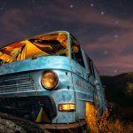 Bajo la mirada de la Osa – Mercedes N1000 abandonada