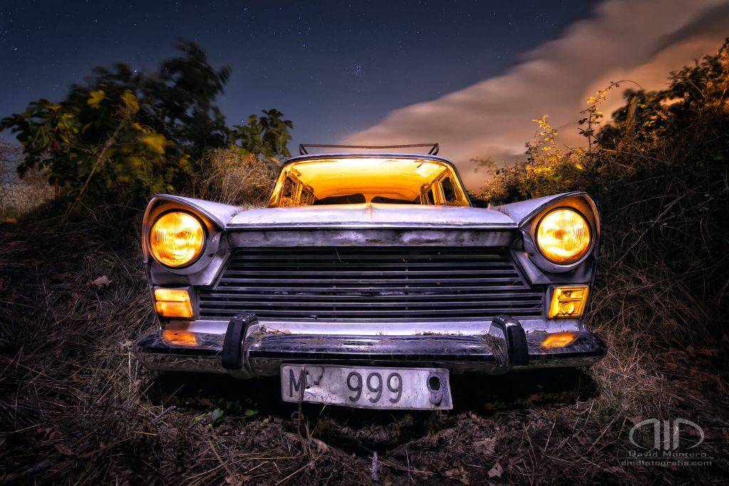 Foto Nocturna Seat 1500 - DMD Fotografía