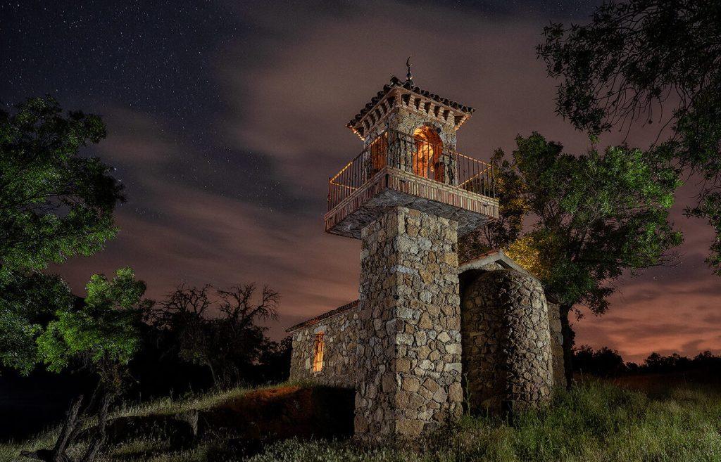 La luna y el minarete - DMD Fotografía
