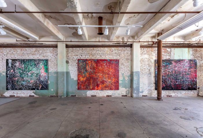 For no eyes only: Mark Bradford's quarantine paintings push the bounds of  virtual art viewing | The Art Newspaper