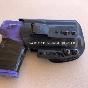 DME Holsters Standard AIWB S&W M&P