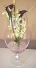 centre de table vase bombonnière