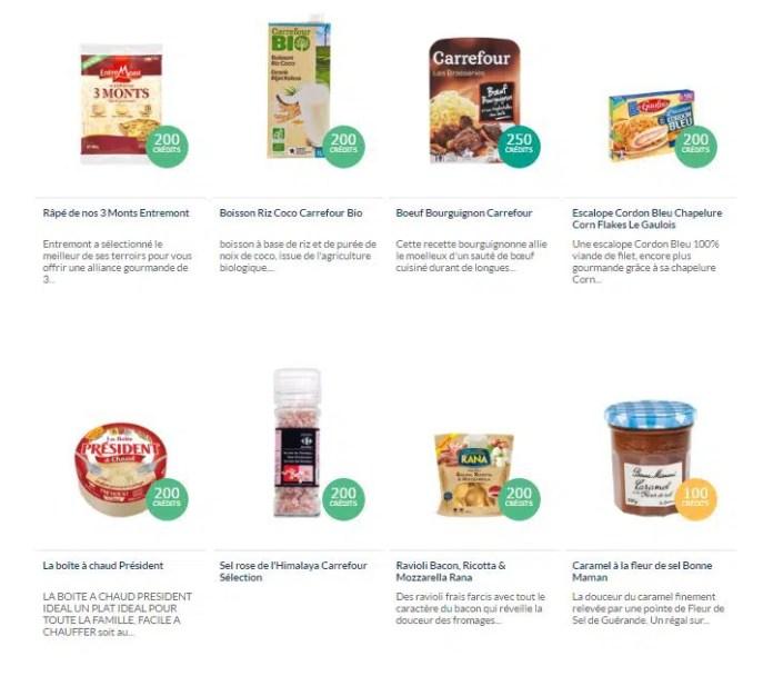 Des marques ou des produits carrefour à vous de choisir !