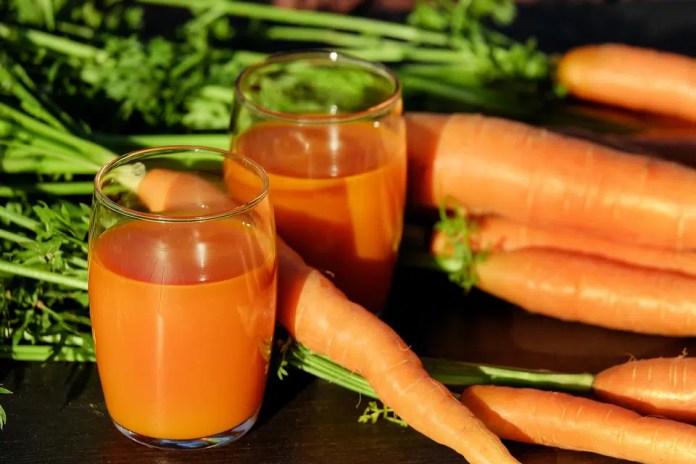Bronzer sans danger jus de carottes