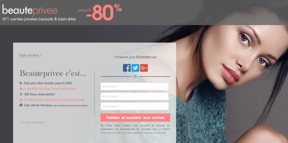 liste des sites de ventes privées beauté